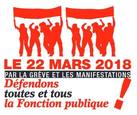 4d655de27c6 Pour le statut et le service public   tous mobilisés le 22 mars ...